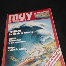 Collectionnisme de Magazine Muy Interesante: REVISTA MUY INTERESANTE Nº 001 - 1 MAYO 1981 - ORIGINAL - NO ES EL FACSÍMIL. Lote 239923820
