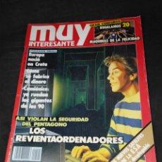 Collectionnisme de Magazine Muy Interesante: REVISTA MUY INTERESANTE Nº 102 NOVIEMBRE 1989. Lote 240344380