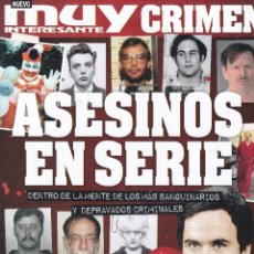 Collectionnisme de Magazine Muy Interesante: REVISTA MUY INTERESANTE CRIMEN: ASESINOS EN SERIE Nº1 2017. Lote 240683270