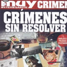 Coleccionismo de Revista Muy Interesante: REVISTA MUY INTERESANTE CRIMEN: CRÍMENES SIN RESOLVER Nº2 2017. Lote 240684545