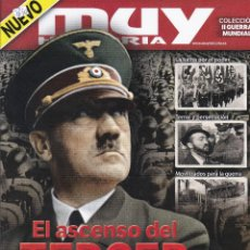 Coleccionismo de Revista Muy Interesante: REVISTA MUY HISTORIA: COLECCION II GUERRA MUNDIAL. EL ASCENSO DEL TERCER REICH. Nº4. Lote 240800325