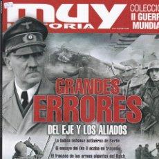 Coleccionismo de Revista Muy Interesante: REVISTA MUY HISTORIA: COLECCION II GUERRA MUNDIAL. GRANDES ERRORES DEL EJE Y LOS ALIADOS,. Nº13. Lote 240802285