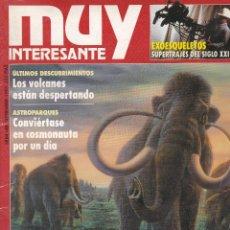 Coleccionismo de Revista Muy Interesante: REVISTA MUY INTERESANTE : EL MISTERIO DE LOS MAMUTS Nº 148 EDITADA EN 1993. Lote 242471730