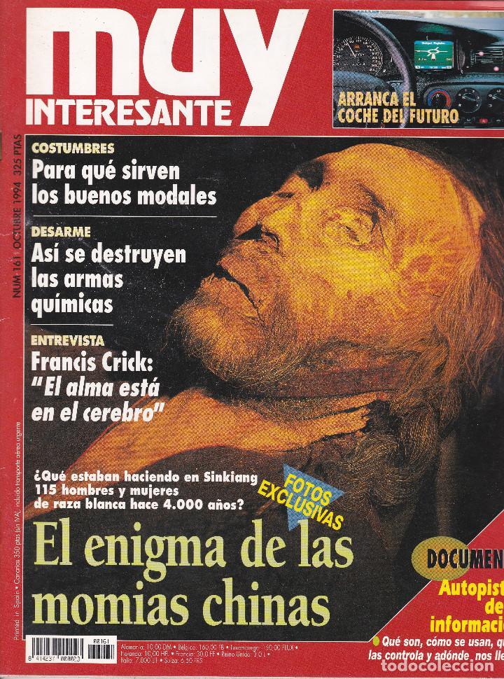REVISTA MUY INTERESANTE: EL ENIGMA DE LAS MOMIAS CHINAS Nº 161 EDITADA EN 1994 (Coleccionismo - Revistas y Periódicos Modernos (a partir de 1.940) - Revista Muy Interesante)