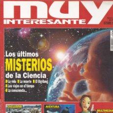 Coleccionismo de Revista Muy Interesante: REVISTA MUY INTERESANTE: LOS ÚLTIMOS MISTERIOS DE LA CIENCIA Nº 197 EDITADA EN 1997. Lote 242833910