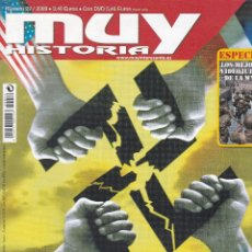 Coleccionismo de Revista Muy Interesante: REVISTA MUY HISTORIA: CRÓNICA SECRETA DE LA II GUERRA MUNDIAL Nº 22 EDITADA EN 2009. Lote 242835790