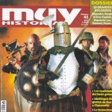 Coleccionismo de Revista Muy Interesante: REVISTA MUY HISTORIA: GUERREROS DE TODOS LOS TIEMPOS Nº 41 EDITADA EN 2012. Lote 242837925