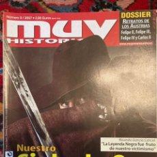Coleccionismo de Revista Muy Interesante: MUY HISTORIA NUMERO 9. Lote 243331440