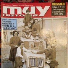 Coleccionismo de Revista Muy Interesante: MUY HISTORIA NÚMERO 3. Lote 243332480