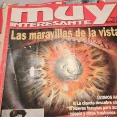 Coleccionismo de Revista Muy Interesante: LOTE REVISTA MUY INTERESANTE. (6). Lote 243908715
