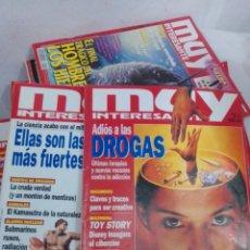 Coleccionismo de Revista Muy Interesante: LOTE 15 REVISTAS MUY INTERESANTE AÑOS 90. Lote 245091225