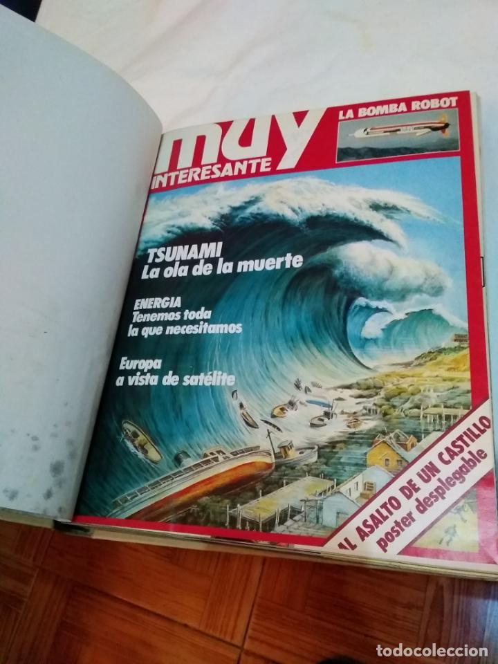 Coleccionismo de Revista Muy Interesante: LOTE 3 TOMOS CON 36 NÚMEROS (01 AL 36) REVISTA MUY INTERESANTE (AÑOS 80) - Foto 5 - 245465440