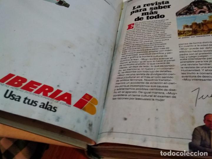 Coleccionismo de Revista Muy Interesante: LOTE 3 TOMOS CON 36 NÚMEROS (01 AL 36) REVISTA MUY INTERESANTE (AÑOS 80) - Foto 6 - 245465440