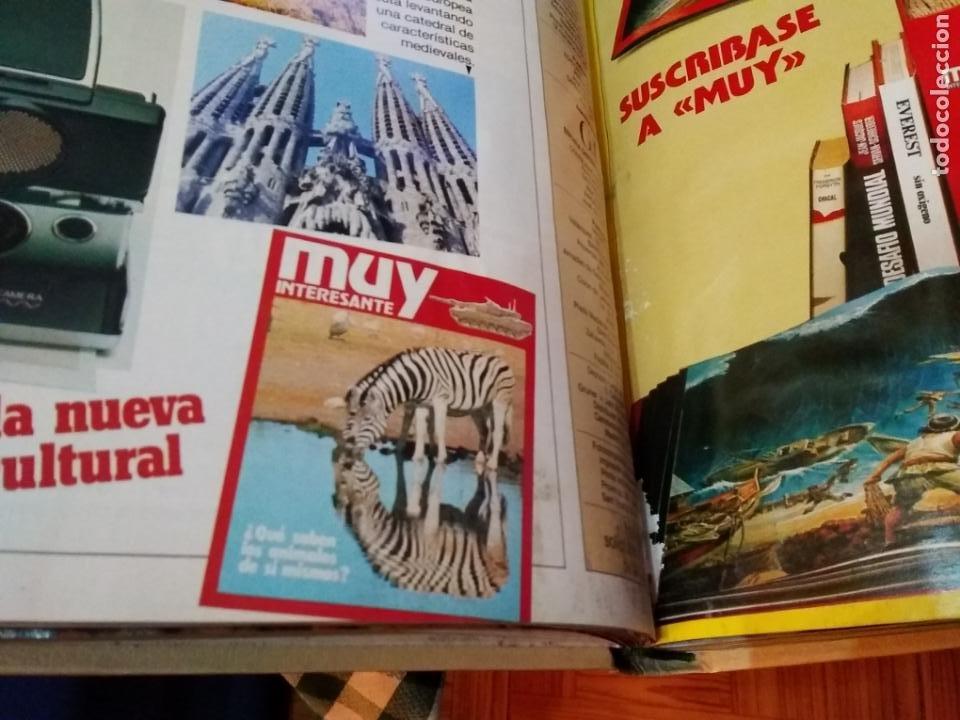 Coleccionismo de Revista Muy Interesante: LOTE 3 TOMOS CON 36 NÚMEROS (01 AL 36) REVISTA MUY INTERESANTE (AÑOS 80) - Foto 7 - 245465440