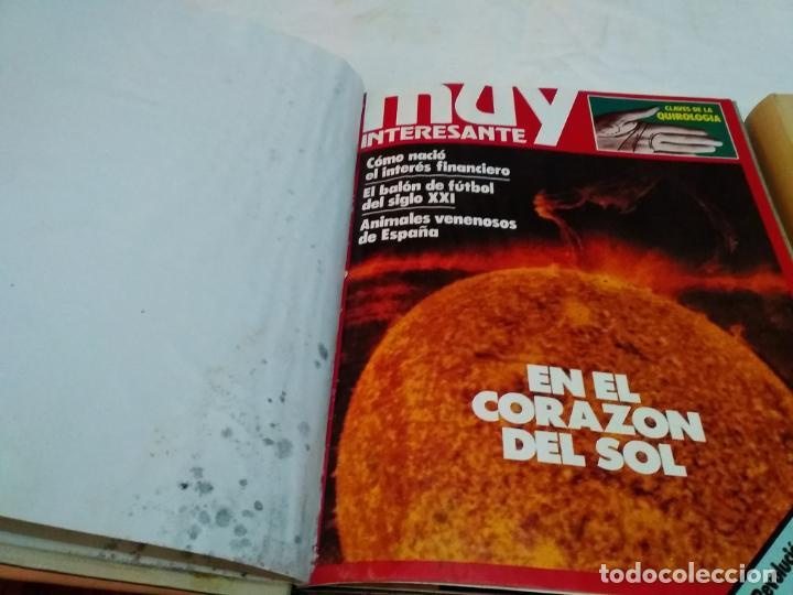 Coleccionismo de Revista Muy Interesante: LOTE 3 TOMOS CON 36 NÚMEROS (01 AL 36) REVISTA MUY INTERESANTE (AÑOS 80) - Foto 15 - 245465440