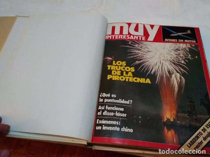 Coleccionismo de Revista Muy Interesante: LOTE 3 TOMOS CON 36 NÚMEROS (01 AL 36) REVISTA MUY INTERESANTE (AÑOS 80) - Foto 18 - 245465440