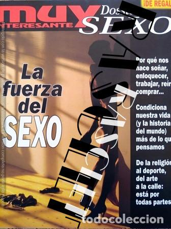 ANTIGUA REVISTA MUY INTERESANTE Nº 292 - DOSIER SEXO (Coleccionismo - Revistas y Periódicos Modernos (a partir de 1.940) - Revista Muy Interesante)
