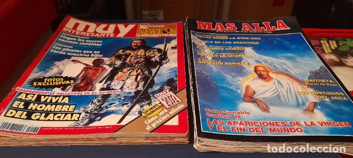 REVISTAS MUY INTERESANTE 6 Y 4 REVISTAS DE MAS ALLA (Coleccionismo - Revistas y Periódicos Modernos (a partir de 1.940) - Revista Muy Interesante)