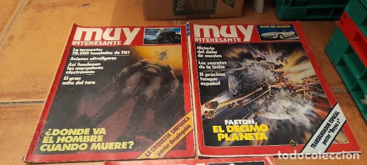 Coleccionismo de Revista Muy Interesante: REVISTAS MUY INTERESANTE 6 Y 4 REVISTAS DE MAS ALLA - Foto 6 - 254097380