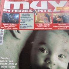 Collectionnisme de Magazine Muy Interesante: LOTE REVISTA MUY INTERESANTE AÑO 2003 COMPLETO. Lote 254578135