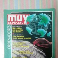Colecionismo da Revista Muy Interesante: MUY INTERESANTE ORDENADORES ESPECIAL 20 INVIERNO 1995. Lote 260851925