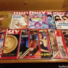 Coleccionismo de Revista Muy Interesante: 15 REVISTAS MUY INTERESANTE DE 1990. Lote 262143435