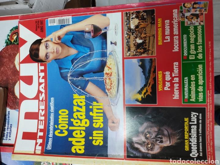 Coleccionismo de Revista Muy Interesante: Lote de 19 revistas muy interesante - Foto 3 - 263144070