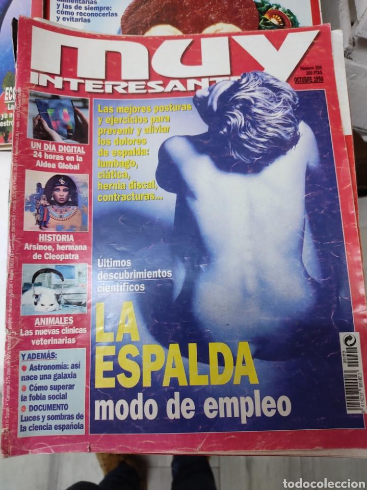 Coleccionismo de Revista Muy Interesante: Lote de 19 revistas muy interesante - Foto 4 - 263144070