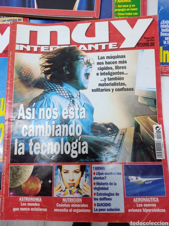 Coleccionismo de Revista Muy Interesante: Lote de 19 revistas muy interesante - Foto 5 - 263144070