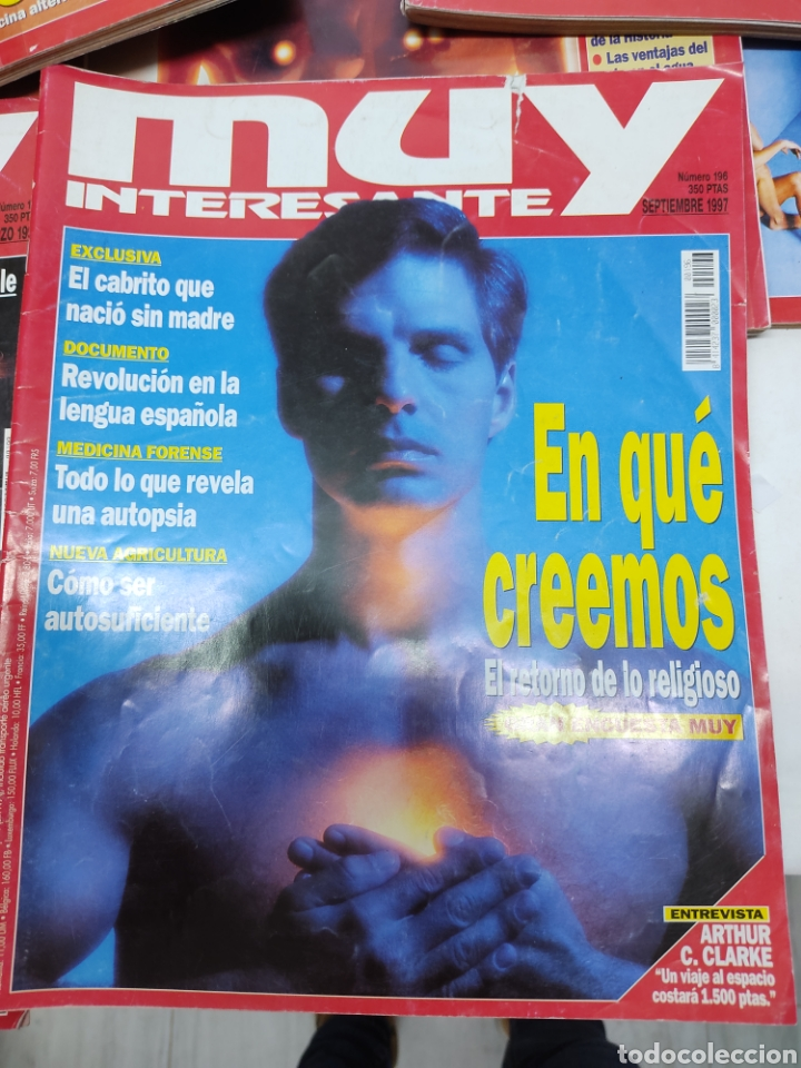 Coleccionismo de Revista Muy Interesante: Lote de 19 revistas muy interesante - Foto 6 - 263144070
