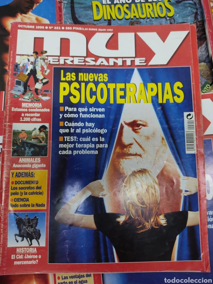 Coleccionismo de Revista Muy Interesante: Lote de 19 revistas muy interesante - Foto 8 - 263144070