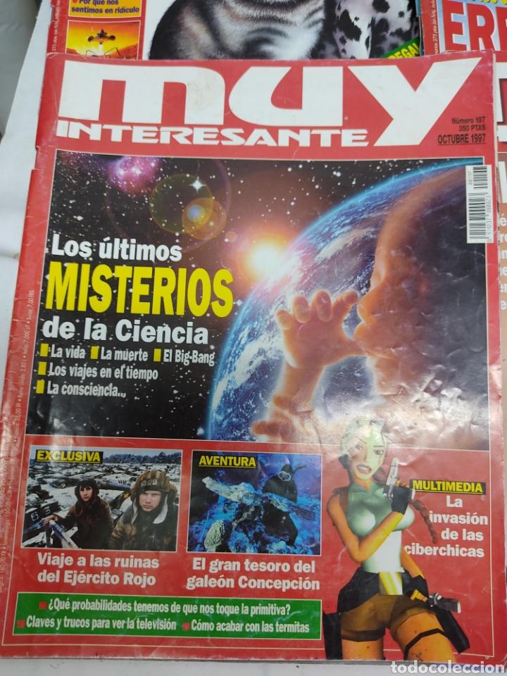 Coleccionismo de Revista Muy Interesante: Lote de 19 revistas muy interesante - Foto 10 - 263144070