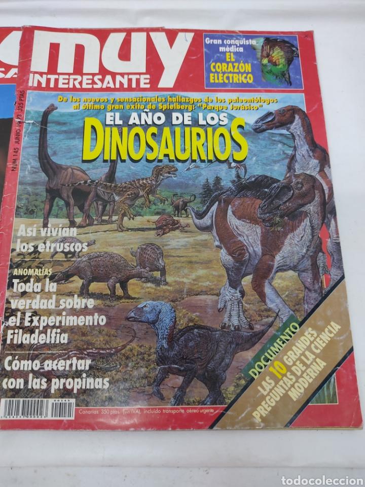 Coleccionismo de Revista Muy Interesante: Lote de 19 revistas muy interesante - Foto 17 - 263144070