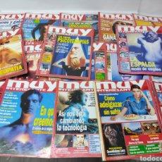Coleccionismo de Revista Muy Interesante: LOTE DE 19 REVISTAS MUY INTERESANTE. Lote 263144070
