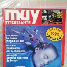 Coleccionismo de Revista Muy Interesante: MUY INTERESANTE 139 DICIEMBRE 1992. Lote 263636850