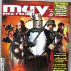 Colecionismo da Revista Muy Interesante: MUY HISTORIA - Nº 41 -GUERREROS DE TODOS LOS TIEMPOS - 2012 - REVISTA. Lote 263893860
