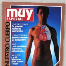 Colecionismo da Revista Muy Interesante: MUY ESPECIAL - Nº 1 - NUESTRO CUERPO - AÑO 1990 - REVISTA. Lote 263894435