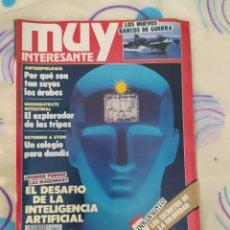 Coleccionismo de Revista Muy Interesante: MUY INTERESANTE. REVISTA N° 114.NOVIEMBRE 1990.. Lote 263910960