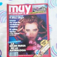 Coleccionismo de Revista Muy Interesante: MUY INTERESANTE. REVISTA N° 111.AGOSTO 1990.. Lote 263912880