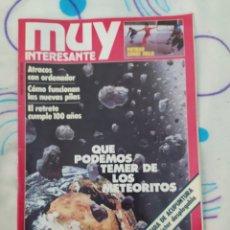 Coleccionismo de Revista Muy Interesante: MUY INTERESANTE. REVISTA N° 33.FEBRERO 1984.UNA PIEZA DE COLECCIÓN.. Lote 263918870