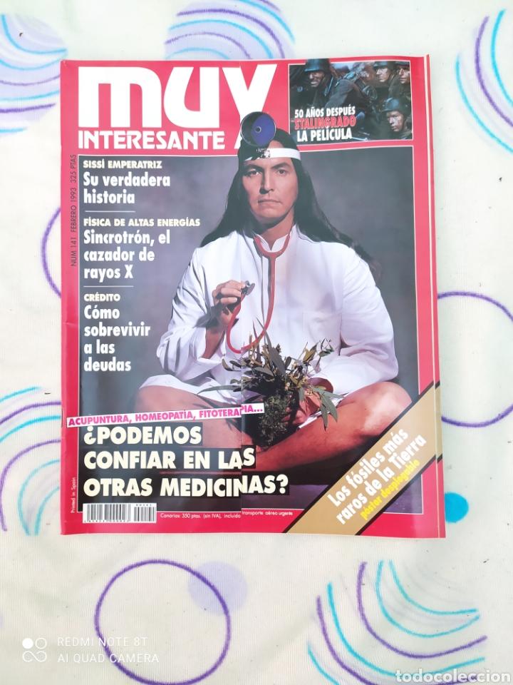 MUY INTERESANTE. REVISTA N° 141.FEBRERO 1993. (Coleccionismo - Revistas y Periódicos Modernos (a partir de 1.940) - Revista Muy Interesante)