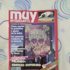 Coleccionismo de Revista Muy Interesante: MUY INTERESANTE. REVISTA N° 126.NOVIEMBRE 1991.. Lote 263935165