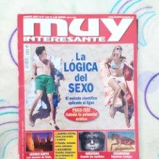 """Collectionnisme de Magazine Muy Interesante: MUY INTERESANTE- EDICION ESPECIAL: """" LA LÓGICA DEL SEXO """" N° 315. AGOSTO 2007.. Lote 263953100"""
