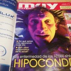 Coleccionismo de Revista Muy Interesante: REVISTA MUY INTERESANTE N ° 347 - LA ENFERMEDAD DE LOS 1000 SÍNTOMAS , HIPOCONDRIA. Lote 264985779