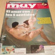 Coleccionismo de Revista Muy Interesante: REVISTA MUY INTERESANTE N ° 356 - EL AMOR CON LOS 5 SENTIDOS. Lote 264985949