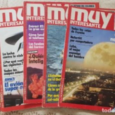 Coleccionismo de Revista Muy Interesante: LOTE 5 REVISTAS MUY INTERESANTE - Nº 6, 7, 8, 9 Y 10. Lote 267713394