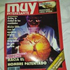Coleccionismo de Revista Muy Interesante: MUY INTERESANTE- HACIA EL HOMBRE PATENTADO-N° 128-- ENERO 1992-- EN EXCELENTE ESTADO DE CONSERVACIÓN. Lote 268183424