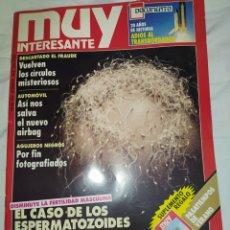 Coleccionismo de Revista Muy Interesante: MUY INTERESANTE- EL CASO DE LOS ESPERMATOZOIDES HOLGAZANES-- N° 135-- AGOSTO 1992-- EN EXCELENTE EST. Lote 268183769