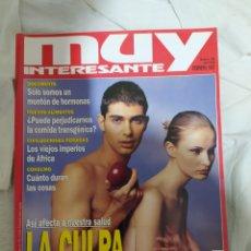 Coleccionismo de Revista Muy Interesante: MUY INTERESANTE- REVISTA N°189--FEBRERO 1997-- EN EXCELENTE ESTADO DE CONSERVACIÓN--. Lote 269653223