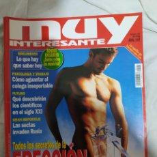 Coleccionismo de Revista Muy Interesante: MUY INTERESANTE- REVISTA N°191-- ABRIL DE 1997-- EN EXCELENTE ESTADO DE CONSERVACIÓN--. Lote 269653888